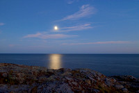 Moonrise at Great Head